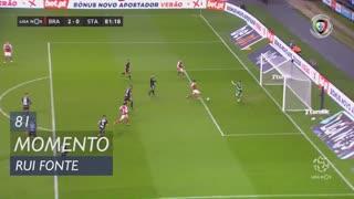 SC Braga, Jogada, Rui Fonte aos 81'