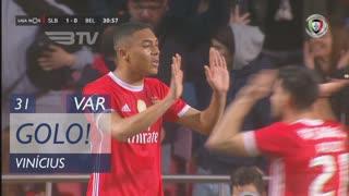 GOLO! SL Benfica, Vinícius aos 31', SL Benfica 1-0 Belenenses