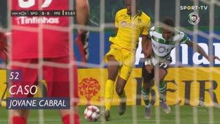 Sporting CP, Caso, Jovane Cabral aos 52'