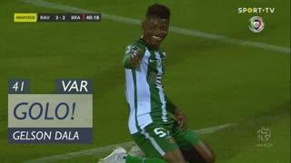 GOLO! Rio Ave FC, Gelson Dala aos 41', Rio Ave FC 3-2 SC Braga