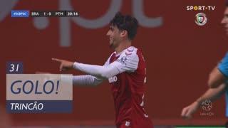 GOLO! SC Braga, Trincão aos 31', SC Braga 1-0 Portimonense