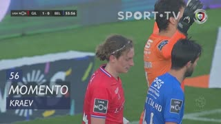 Gil Vicente FC, Jogada, Kraev aos 56'
