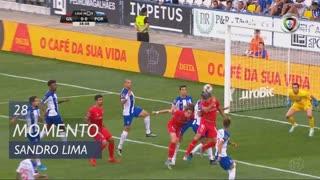Gil Vicente FC, Jogada, Sandro Lima aos 28'