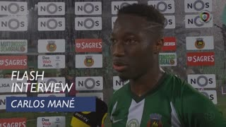 Liga (7ª): Flash Interview Carlos Mané