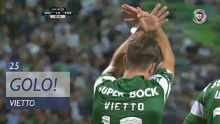 GOLO! Sporting CP, Vietto aos 25', Sporting CP 1-0 FC Famalicão