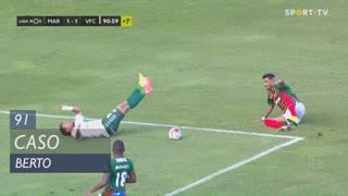 Vitória FC, Caso, Berto aos 90'+1'