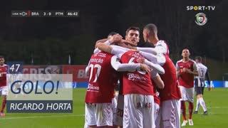 GOLO! SC Braga, Ricardo Horta aos 47', SC Braga 3-0 Portimonense