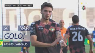 GOLO! Moreirense FC, Nuno Santos aos 50', Belenenses 0-1 Moreirense FC