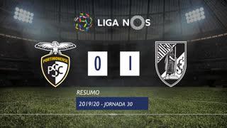 Liga NOS (30ªJ): Resumo Portimonense 0-1 Vitória SC