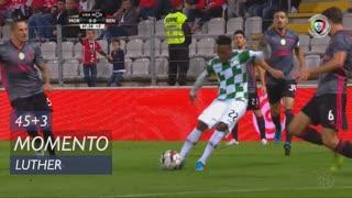 Moreirense FC, Jogada, Luther aos 45'+3'