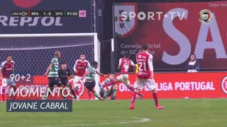 Sporting CP, Jogada, Jovane Cabral aos 90'+2'