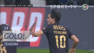 GOLO! Vitória SC, Teixeira aos 54', FC Famalicão 0-5 Vitória SC