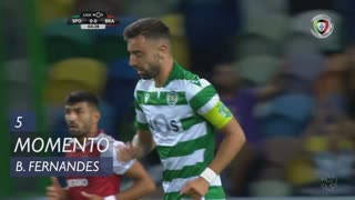 Sporting CP, Jogada, Bruno Fernandes aos 5'