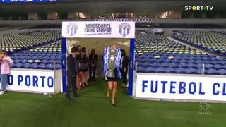 Entrega troféu campeão FC Porto 2019/2020