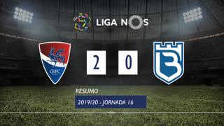 Liga NOS (16ªJ): Resumo Gil Vicente FC 2-0 Belenenses SAD