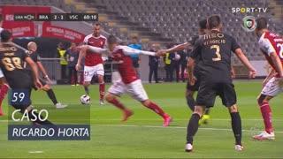 SC Braga, Caso, Ricardo Horta aos 59'