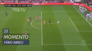 Moreirense FC, Jogada, Fábio Abreu aos 25'
