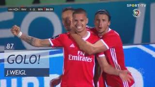 GOLO! SL Benfica, J. Weigl aos 87', Rio Ave FC 1-2 SL Benfica