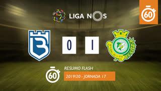 I Liga (17ªJ): Resumo Flash Belenenses 0-1 Vitória FC