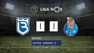 Liga NOS (13ªJ): Resumo Belenenses 1-1 FC Porto