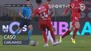 Vitória FC, Caso, Carlinhos aos 49'
