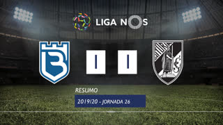 I Liga (26ªJ): Resumo Belenenses SAD 1-1 Vitória SC