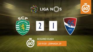 I Liga (29ªJ): Resumo Flash Sporting CP 2-1 Gil Vicente FC