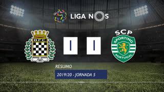 Liga NOS (5ªJ): Resumo Boavista FC 1-1 Sporting CP