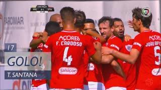 GOLO! Santa Clara, Thiago Santana aos 17', FC P.Ferreira 0-1 Santa Clara