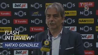 Natxo González orgulhoso da sua equipa