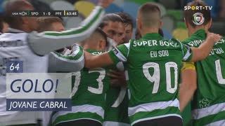 GOLO! Sporting CP, Jovane Cabral aos 64', Sporting CP 1-0 FC P.Ferreira