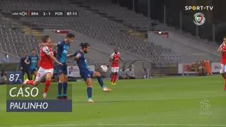 SC Braga, Caso, Paulinho aos 87'