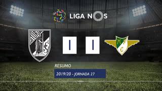 Liga NOS (27ªJ): Resumo Vitória SC 1-1 Moreirense FC