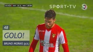 GOLO! Rio Ave FC, Bruno Morais (p.b.) aos 48', CD Aves 0-2 Rio Ave FC