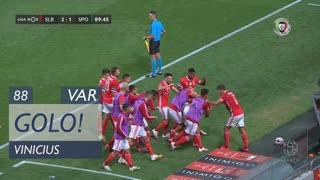GOLO! SL Benfica, Vinícius aos 88', SL Benfica 2-1 Sporting CP