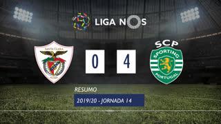 Liga NOS (14ªJ): Resumo Santa Clara 0-4 Sporting CP