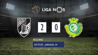 Liga NOS (29ªJ): Resumo Vitória SC 2-0 Vitória FC