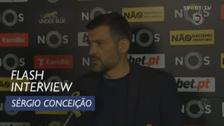 Liga (23ª): Flash Interview Sérgio Conceição
