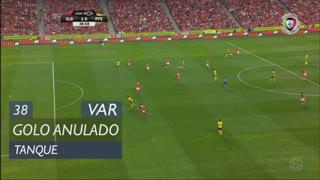 FC P.Ferreira, Golo Anulado, Tanque aos 38'