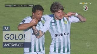 GOLO! Vitória FC, Antonucci aos 78', Vitória FC 2-1 Santa Clara