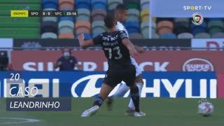 Vitória FC, Caso, Leandrinho aos 20'