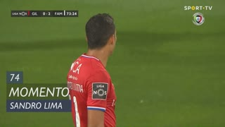 Gil Vicente FC, Jogada, Sandro Lima aos 74'