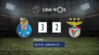 Liga NOS (20ªJ): Resumo FC Porto 3-2 SL Benfica
