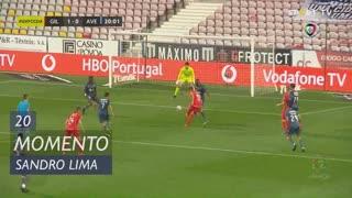 Gil Vicente FC, Jogada, Sandro Lima aos 20'