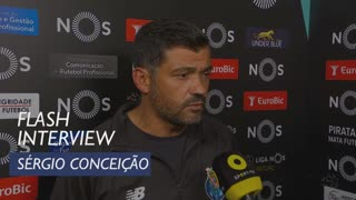 Liga (1ª): Flash Interview Sérgio Conceição