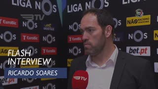 Liga (23ª): Flash Interview Ricardo Soares