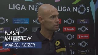 Liga (1ª): Flash Interview Marcel Keizer