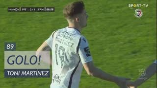 GOLO! FC Famalicão, Toni Martínez aos 89', FC P.Ferreira 2-1 FC Famalicão