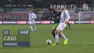 Sporting CP, Caso, Wendel aos 35'