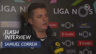 Liga (12ª): Flash Interview Samuel Correia